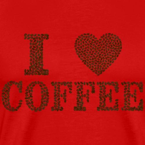 i love coffee - T-shirt Premium Homme
