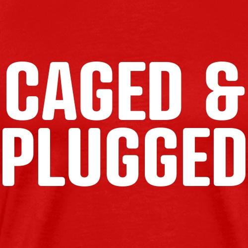 cagedplugged - Männer Premium T-Shirt