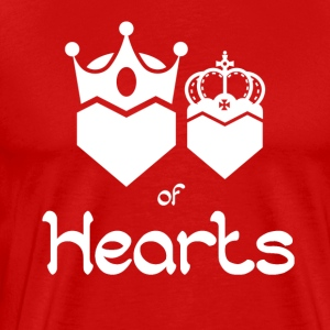 King and Queen of Hearts - Männer Premium T-Shirt