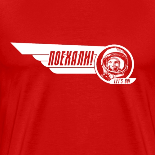 Yuri Gagarin - Men's Premium T-Shirt