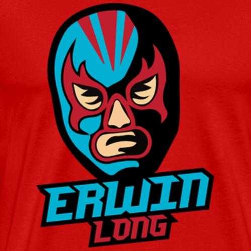 Erwin Long - Farbiges Logo - Männer Premium T-Shirt
