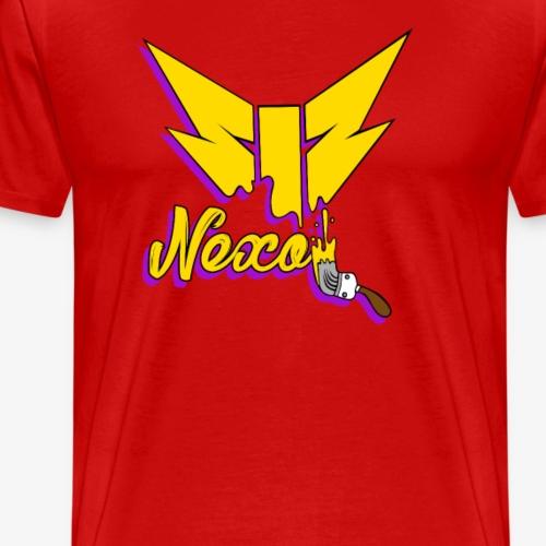 Logo de Nexo Pintado - Camiseta premium hombre
