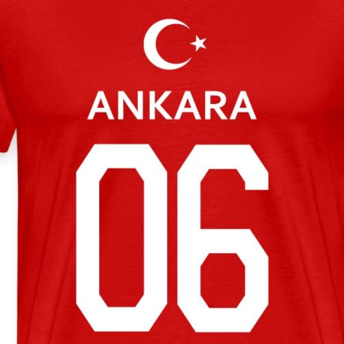 Türkei Ankara 06 - Männer Premium T-Shirt