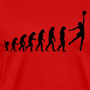 Basketball evolution - Männer Premium T-Shirt