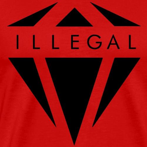 ILLEGAL CLR - Maglietta Premium da uomo