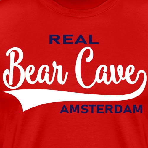 Bear Cave Old School - Mannen Premium T-shirt