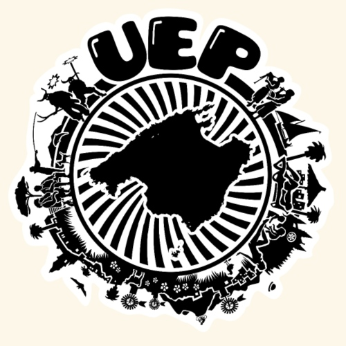 UEP white background - Men's Premium T-Shirt