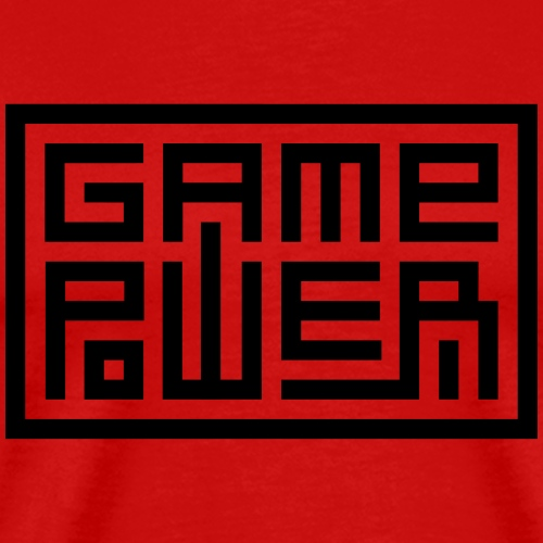 Game Power - T-shirt Premium Homme