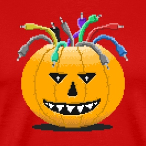Pumpkin-Spiced Patches - Männer Premium T-Shirt