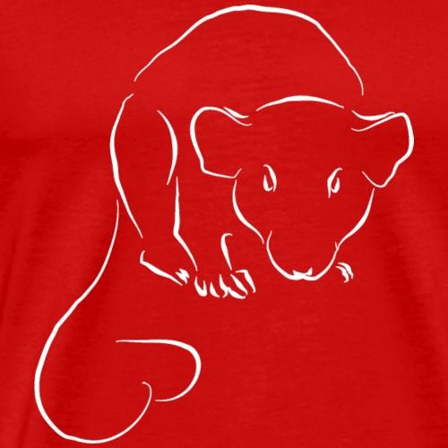 Rat Coeur - T-shirt Premium Homme