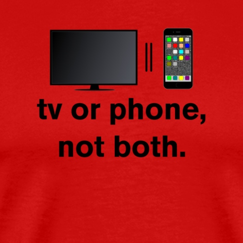 One at a Time (black) - Men's Premium T-Shirt