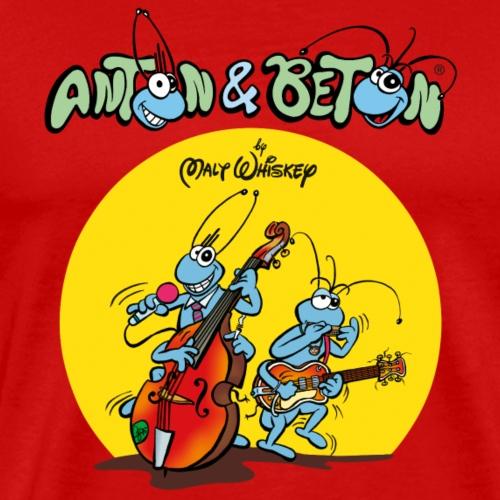 Anton & Beton - Blues & Rock and Roll Malt Whiskey - Männer Premium T-Shirt