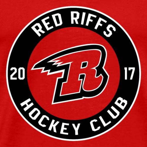 Red Riffs Logo - Men's Premium T-Shirt