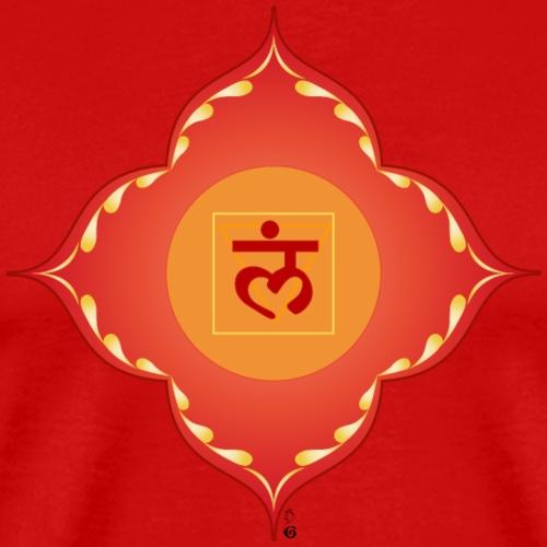 muladhara chakra - Maglietta Premium da uomo
