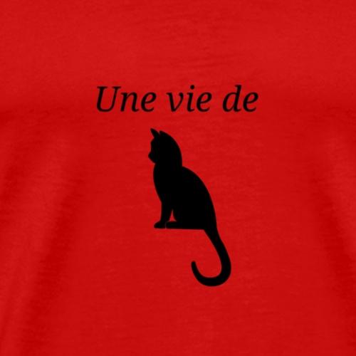 Une vie de Chat - T-shirt Premium Homme