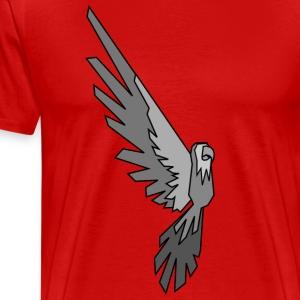 Papagei - Conner Conure Grey - Männer Premium T-Shirt