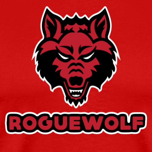 RogueWolf Red Tee - Men's Premium T-Shirt