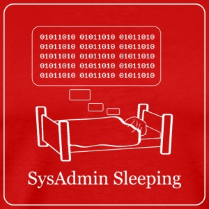 Må sysadmins drømmer om Electric Sheep - Herre premium T-shirt