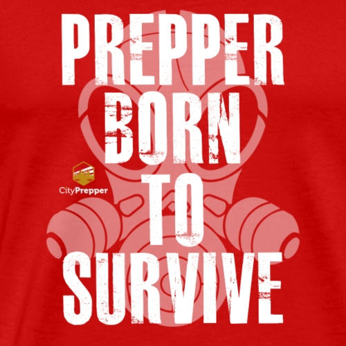 Prepper - Born to Survive - Männer Premium T-Shirt