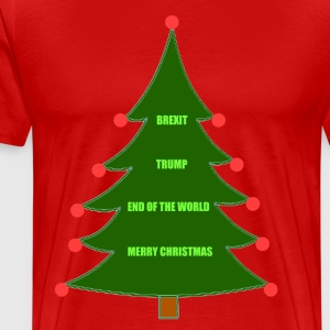 Brexit Trump Christmas - Men's Premium T-Shirt