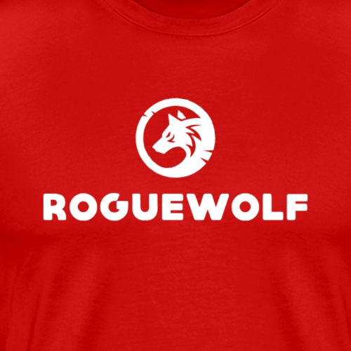 RogueWolf Signature Design - Men's Premium T-Shirt