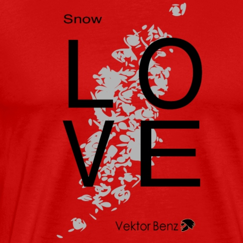 21 12 17 snow love - Männer Premium T-Shirt