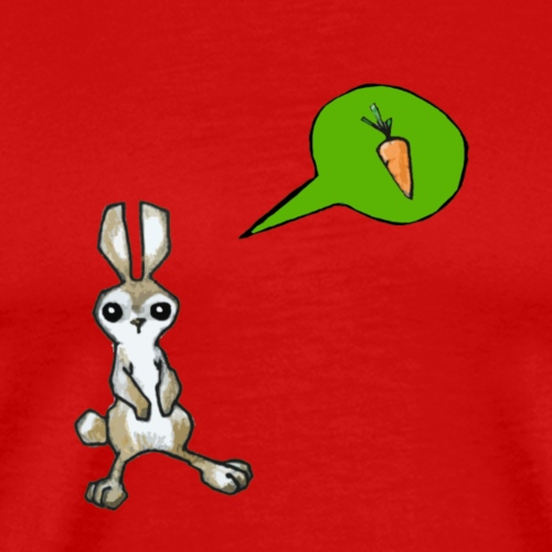 Hungry Rabbit - Männer Premium T-Shirt