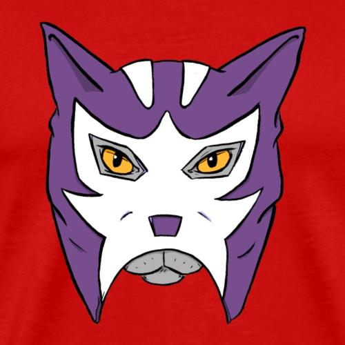 Katze mit Lucha Libre Maske - Luchagato - Männer Premium T-Shirt