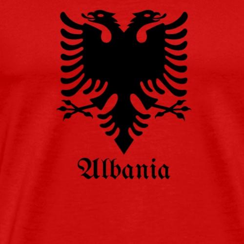Albanien Eagle Albanien Flagge - Männer Premium T-Shirt