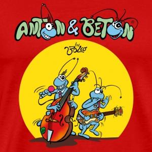 Anton & Beton - Blues & Rock and Roll Musik - Männer Premium T-Shirt