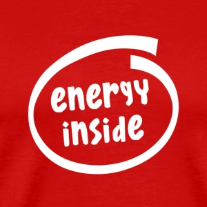 energy inside (1816B) - Men's Premium T-Shirt