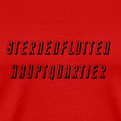 Star Trek Sternenflotte HQ - Männer Premium T-Shirt