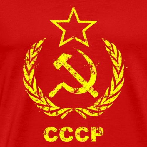 URSS Communiste Vintage Flag - T-shirt Premium Homme