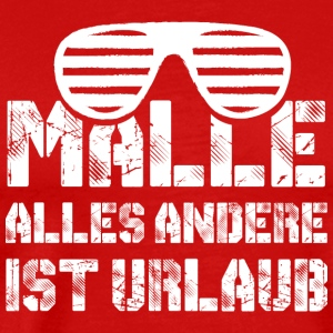 Party! Mallorca! Malle! Springbreak! - Männer Premium T-Shirt