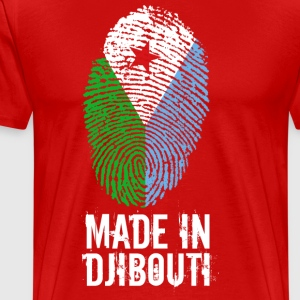 Made In Djibouti / Djibouti / جيبوتي - Premium T-skjorte for menn