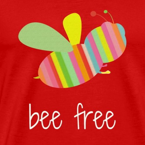 bee free tank - Men's Premium T-Shirt