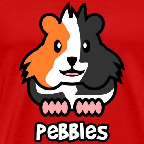 Meerschweinchen Pebbles - Männer Premium T-Shirt