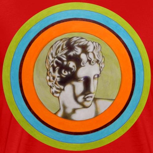 Apollo alla Galleria degli Uffizi - Maglietta Premium da uomo