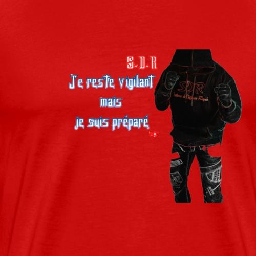 S.D.R ( Système de Défense Rapide ) - T-shirt Premium Homme