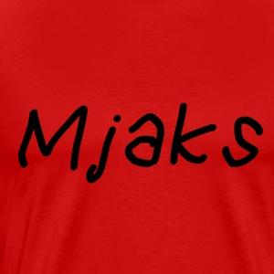 Mjaks 2017 - Mannen Premium T-shirt