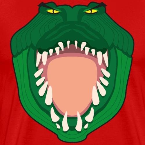 Krokodil roofdier cartoon - Mannen Premium T-shirt