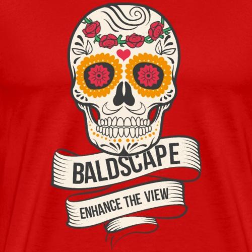 Skull Design by Baldscape - Men's Premium T-Shirt