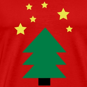 Christmas tree green - Premium-T-shirt herr