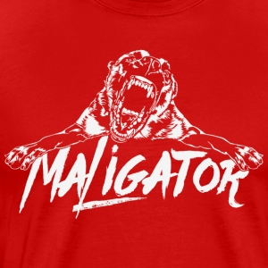 Maligator - Belgian Malinois - Men's Premium T-Shirt