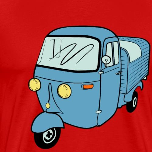 Ape Moped Kleintransporter Vespacar Dreirad Roller - Männer Premium T-Shirt