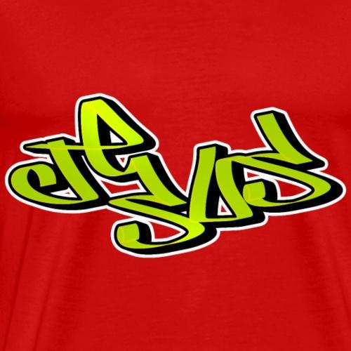 Jesus Graffiti - Men's Premium T-Shirt
