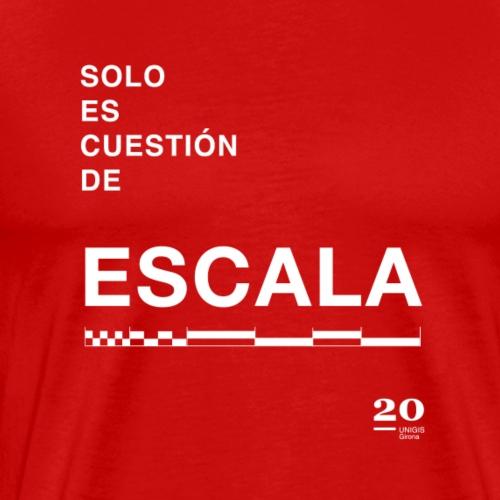 escala - Camiseta premium hombre