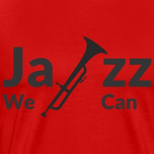 JAZZ WE CAN - Men's Premium T-Shirt