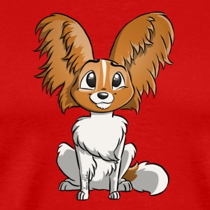 Spaniel Papillon - Men's Premium T-Shirt