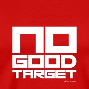 NO GOOD TARGET - Mannen Premium T-shirt